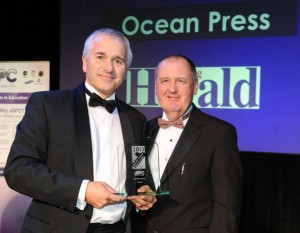 Winning the 2013 Worthing & Adur Business award